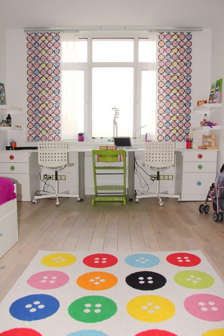 Фото интерьера: Детская, правильное зонирование пространства – Квартира в скандинавском стиле площадью 113 м – 1548