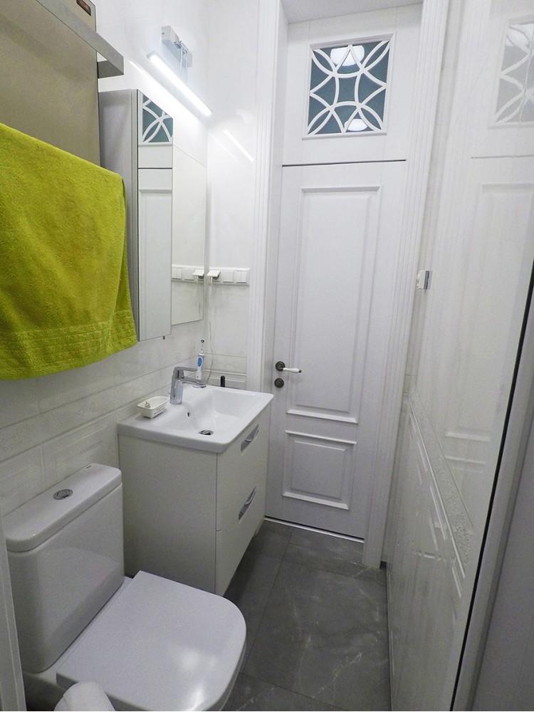Ванная — Дизайн-проект 1-комнатной квартиры в классическом стиле, 47м.кв — Катерина Кузьмук