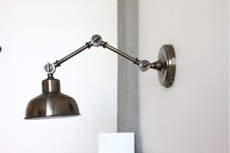 Бра — Дизайн 2-комнатной квартиры Soft Scandinavian Loft, 40 м.кв — дизайнер Ира Сазонова