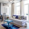 Кухня-гостиная — Дизайн 1-комнатной квартиры Studio Open Space, ЖК Комфорт Таун, 40 м.кв — дизайнер Сазонова Ира