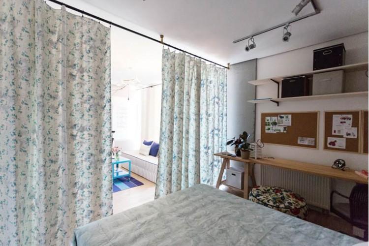 Спальня – фото интерьера № 1036
