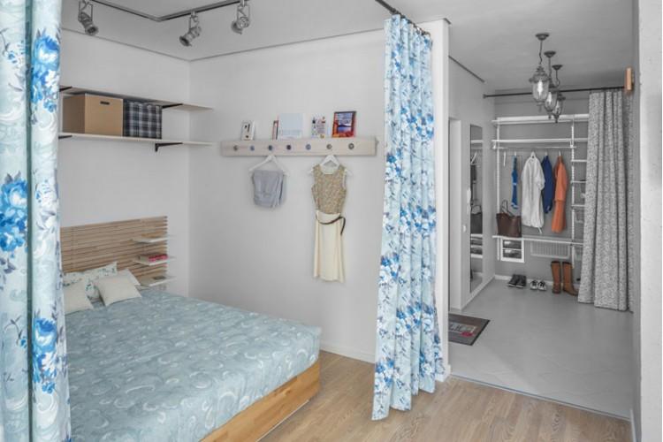 Спальня – фото интерьера № 1040