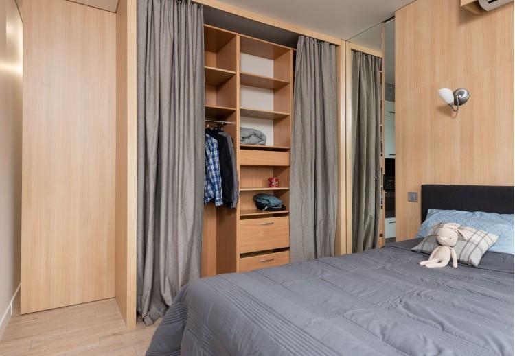 Спальня – фото интерьера № 1499