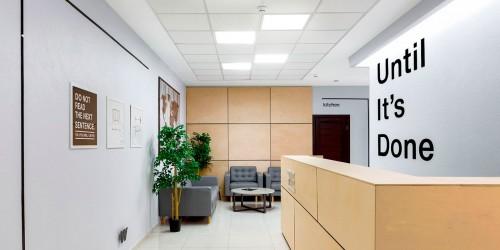 Дизайн-проект и комплектация офиса мебелью ИКЕА