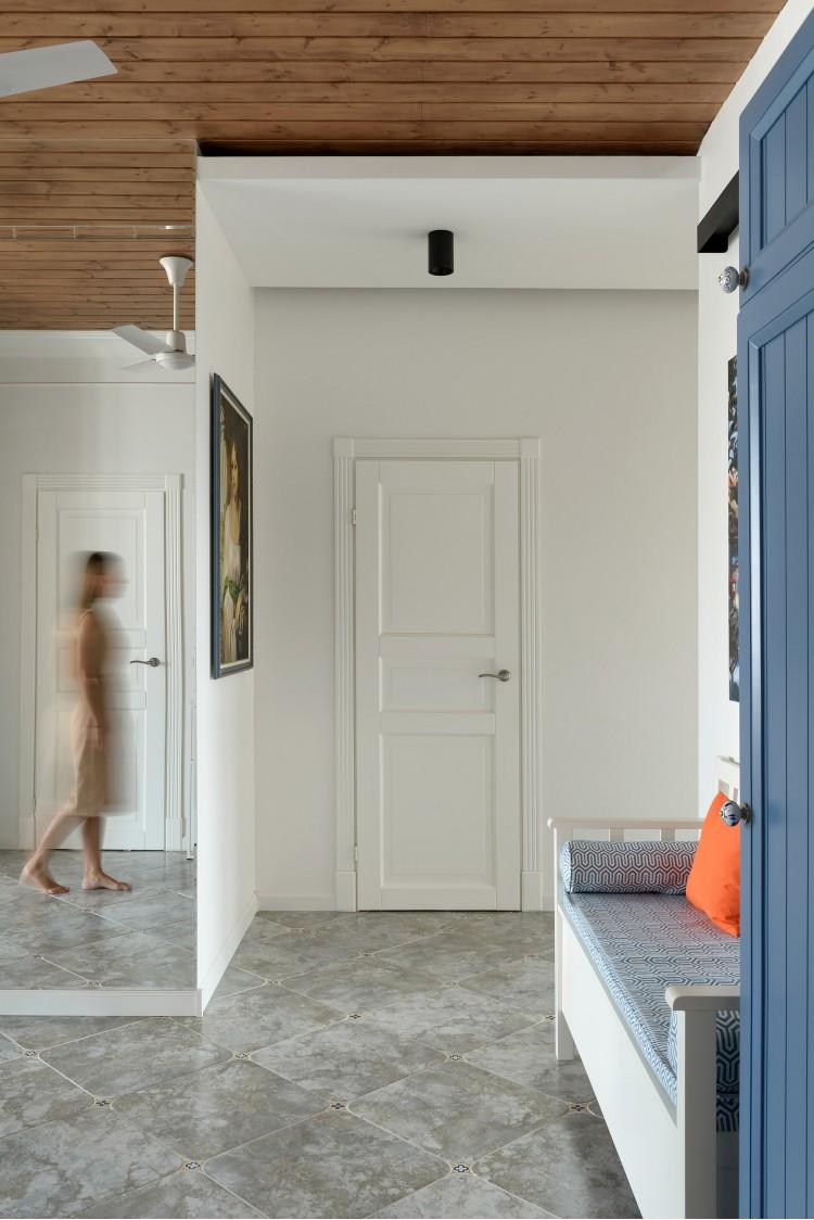 """Скозь стену — Дизайн-проект 2-комнатной квартиры """"Forever young"""" White Cozy Home в ЖК River Stone, 85м.кв — дизайнер Сазонова Ира"""