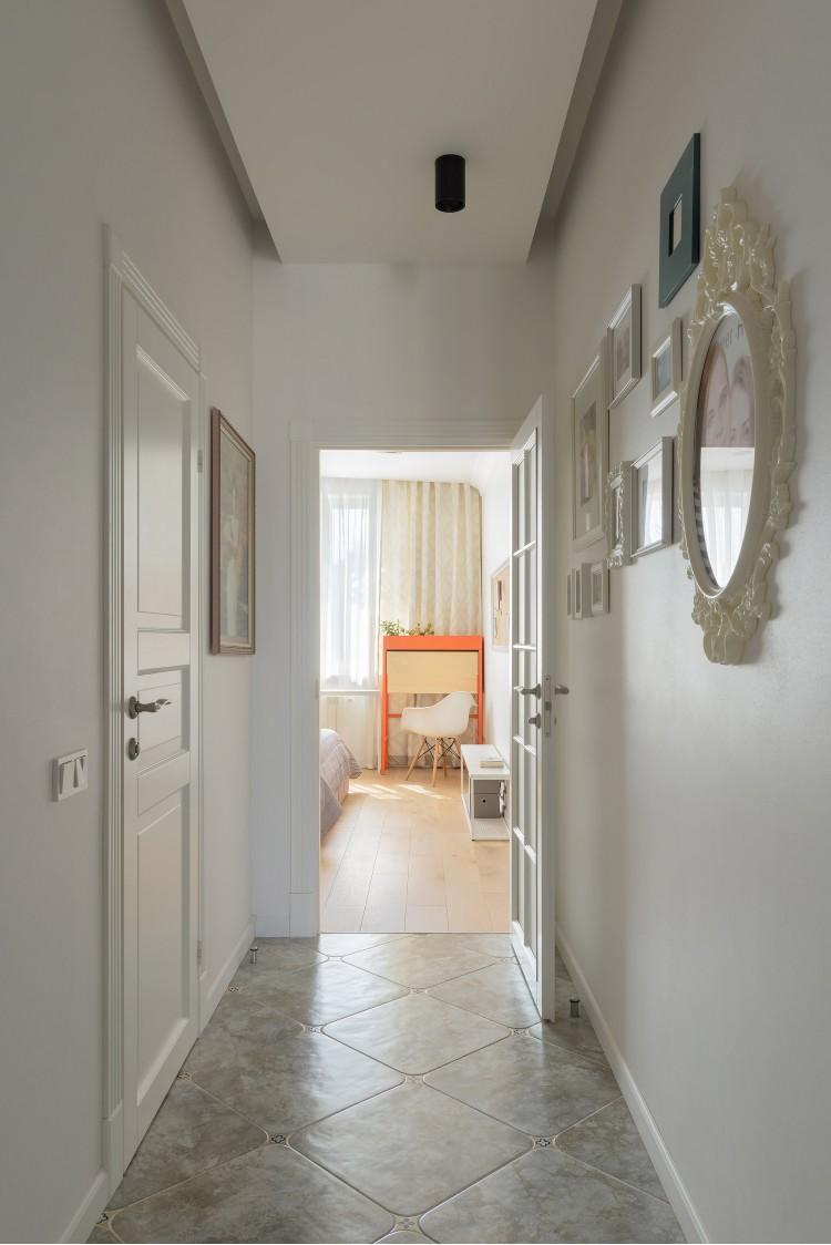 Вход в спальную комнату – фото интерьера № 1771