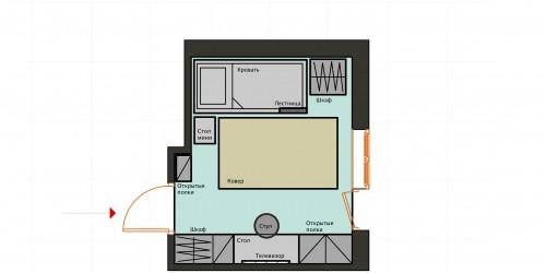 Коллажный дизайн проект комнаты