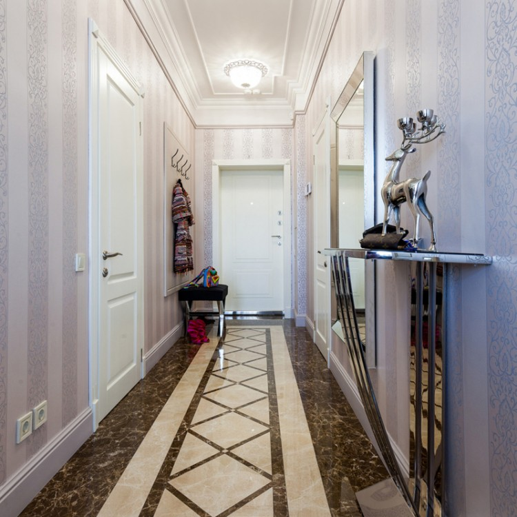 Коридор — Дизайн-проект квартири в ЖК Новопечерські Липки, 80 м.кв — студия дизайну Atelier Bergal