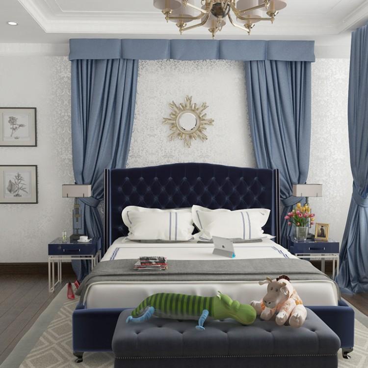 Спальня – фото интерьера № 986