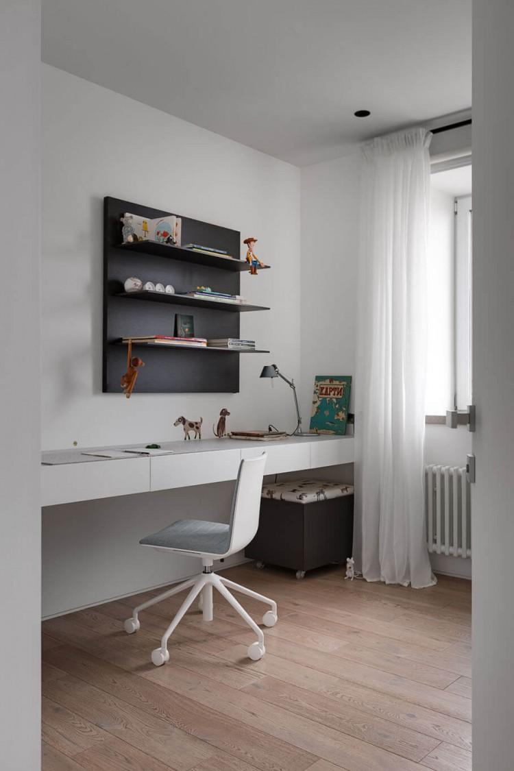 Детская — Дизайн-проект 3-комнатной квартиры White Freedom, 93м.кв — студия дизайна Azovskiy + Pahomova