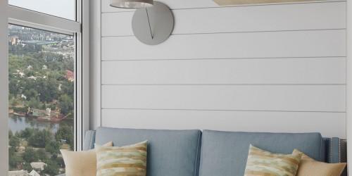 Дизайн-проект однокомнатной квартиры в стиле прованс.