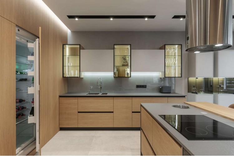 Кухня-гостиная — Дизайн-проект квартиры в ЖК Сонячна Брама 175м.кв — студия дизайна TABOORET