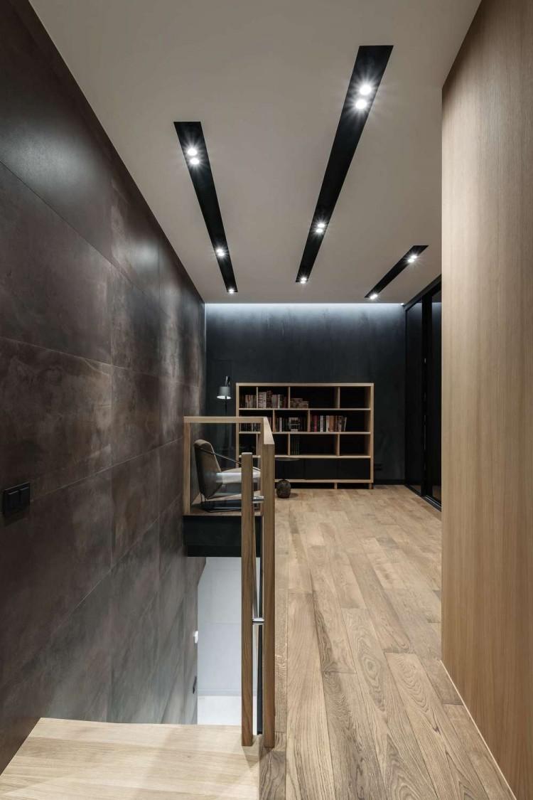 Холл-лестница — Дизайн-проект квартиры в ЖК Сонячна Брама 175м.кв — студия дизайна TABOORET
