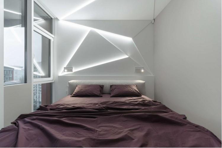 Спальня — Дизайн-проект квартиры в ЖК Сонячна Брама 175м.кв — студия дизайна TABOORET
