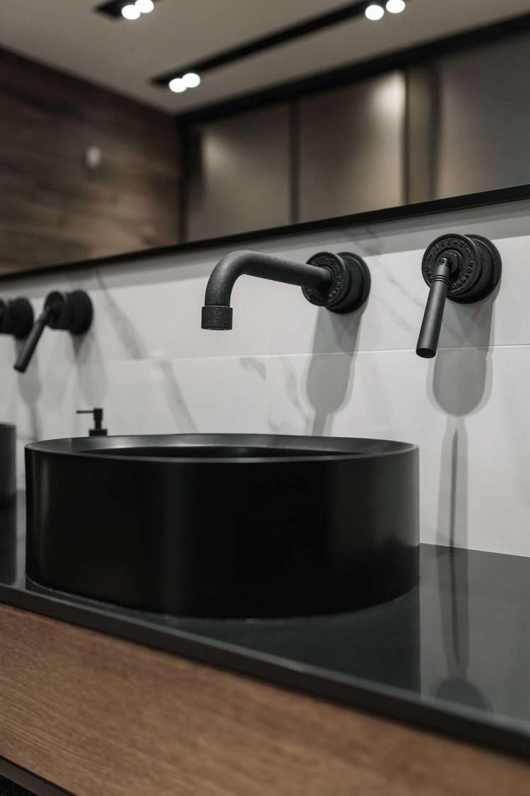 Ванная — Дизайн-проект квартиры в ЖК Сонячна Брама 175м.кв — студия дизайна TABOORET