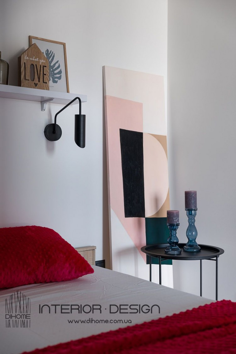 Декор и освещение в дизайне спальни – 2152