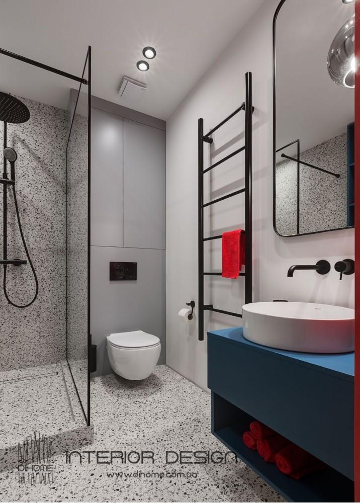 Фото интерьера: Интерьер ванной комнаты – BRIGHT MOOD – интерьер однокомнатной квартиры 47 м2 – 2159