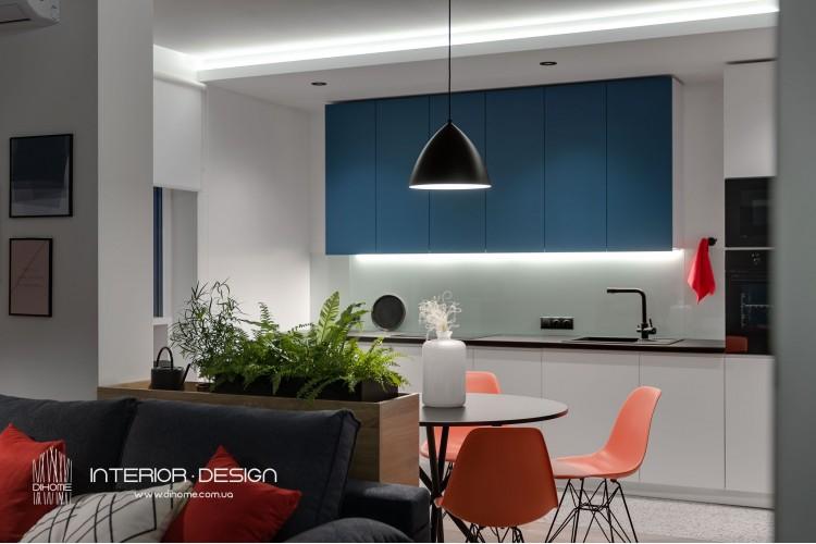 Фото дизайна: BRIGHT MOOD - Фото 24 – BRIGHT MOOD – интерьер однокомнатной квартиры 47 м2 – 2162