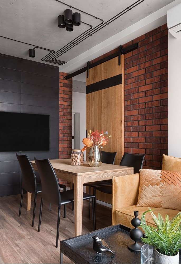 Фото: Лофт в Киевской квартире – URBAN LIGHT: квартира в стиле Лофт, 65 м2 – 2200