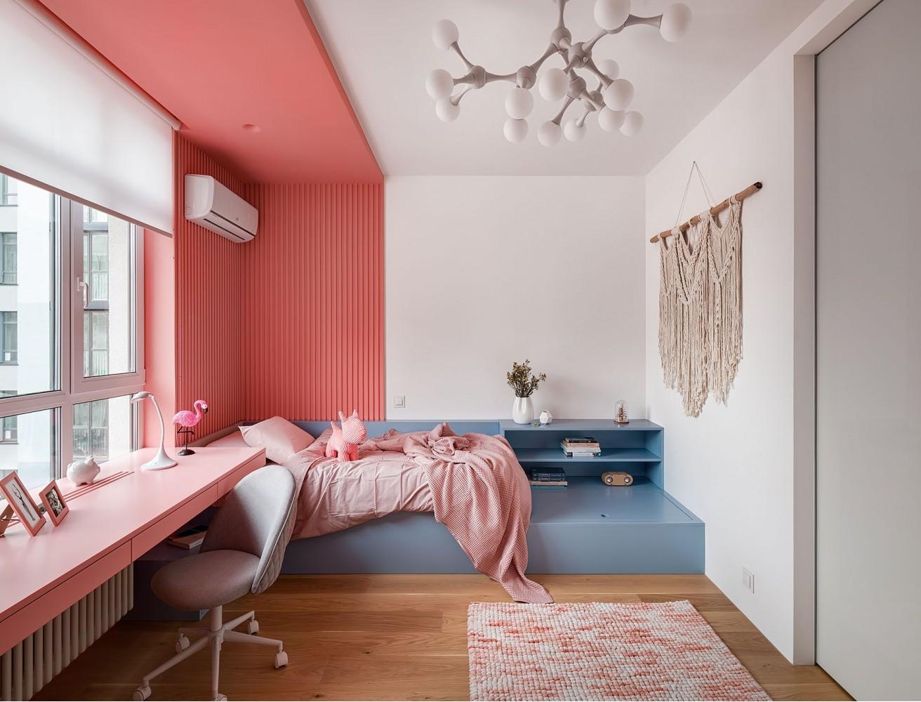 Фото интерьера: Дизайн детской комнаты – URBAN LIGHT: квартира в стиле Лофт, 65 м2 – 2206