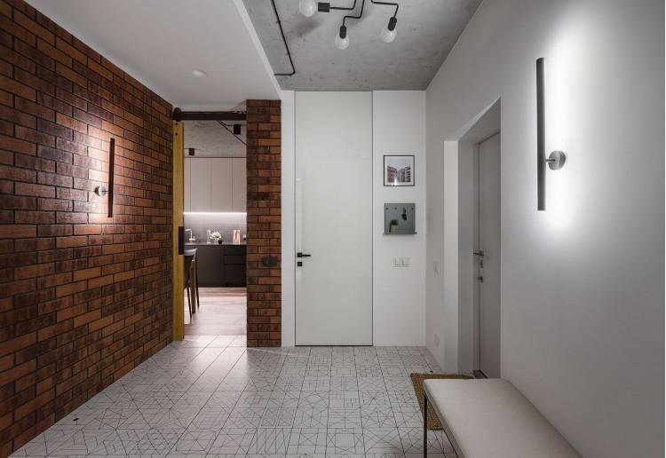 Фотография: Дизайн прихожей – URBAN LIGHT: квартира в стиле Лофт, 65 м2 – 2208