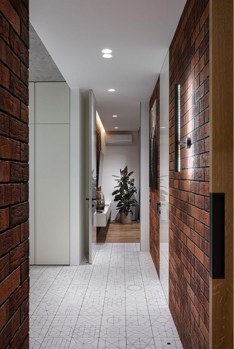 Фото: Дизайн коридора – URBAN LIGHT: квартира в стиле Лофт, 65 м2 – 2210