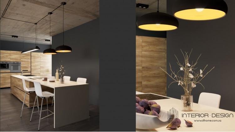 Кухня-гостиная – новое фото portes № 2217