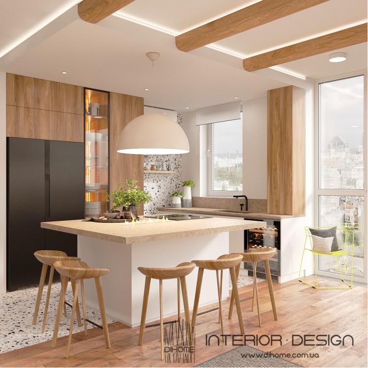 Кухня-гостиная – качественное фото стиля интерьера № 2226