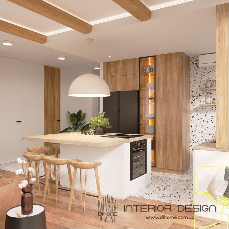Кухня-гостиная – популярное фото  № 2227