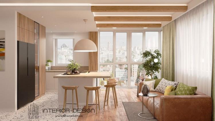 Кухня-гостиная – популярное фото тренд дизайна № 2230