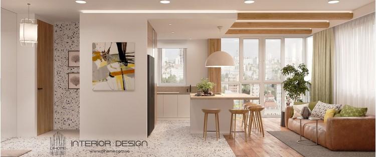 Кухня-гостиная – красивое фото идея № 2232