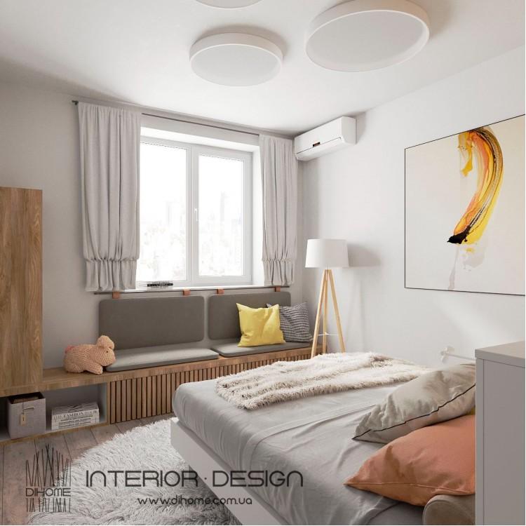 Спальня – фото интерьера № 2235