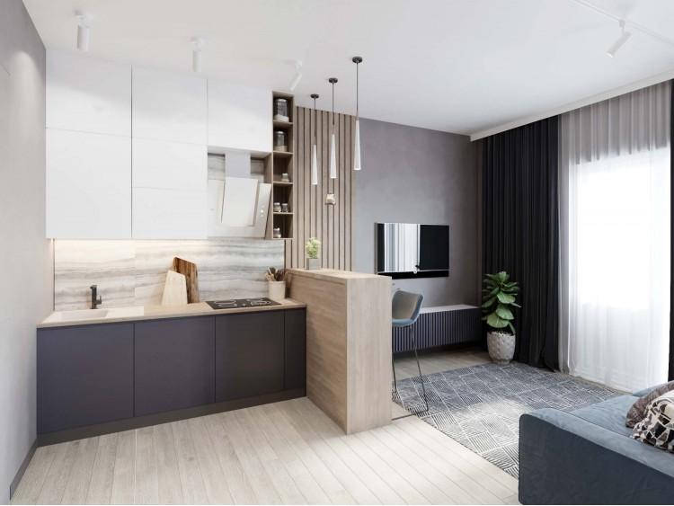 Кухня-гостиная – качественное фото вдохновение № 2110