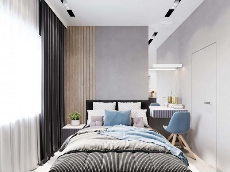 Дизайн квартиры-студии ЖК Французский квартал — 52м.кв – фото интерьера № 2112