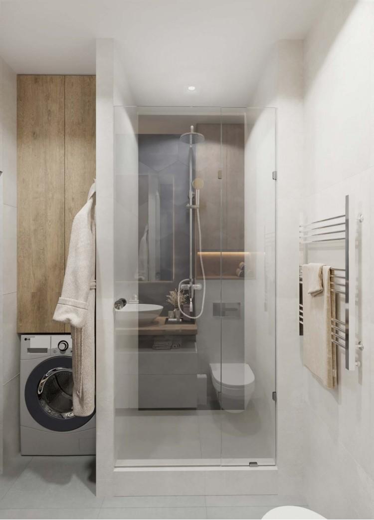 Дизайн квартиры-студии ЖК Французский квартал — 52м.кв – 2115