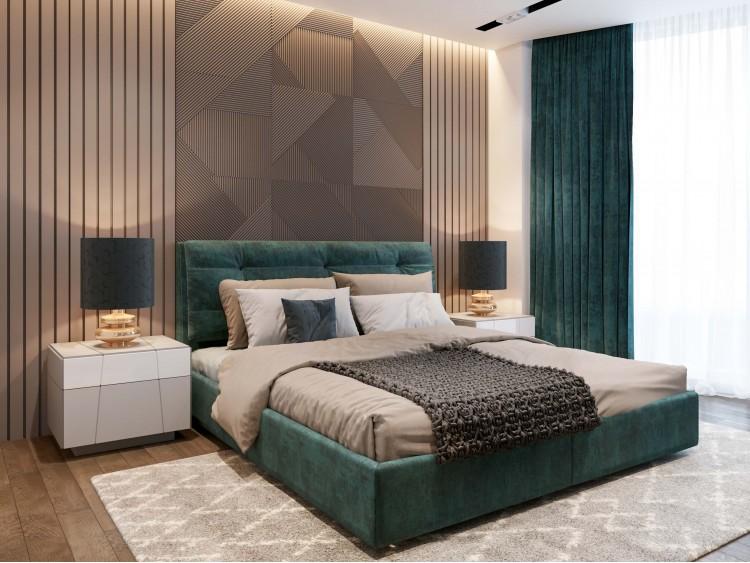 Спальня – красивое фото ремонта № 2116