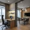 Гостиная в дизайн-проекте квартиры в ЖК Jack House, 86 м.кв.— студия дизайна Novoselskiy Design