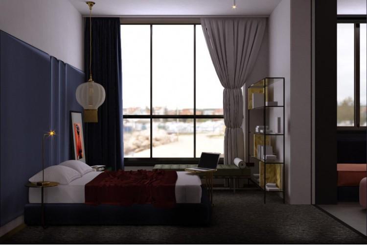Спальня – фото интерьера № 766