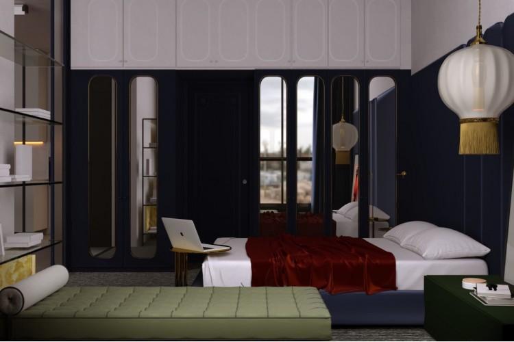 Спальня – фото интерьера № 768