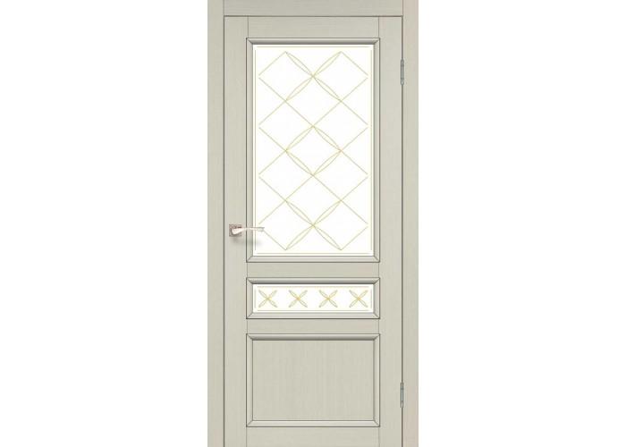Двери Korfad CLASSICO CL-05 Белый перламутр  1