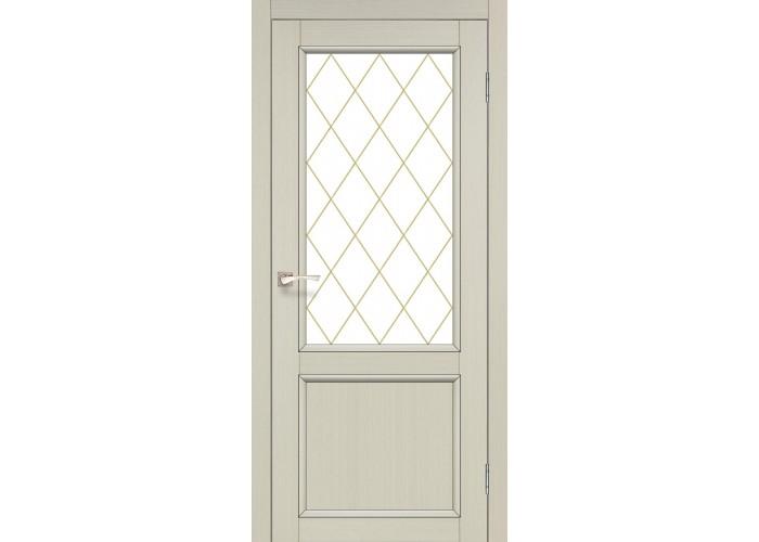 Двери Korfad CLASSICO CL-02 Дуб марсала  1