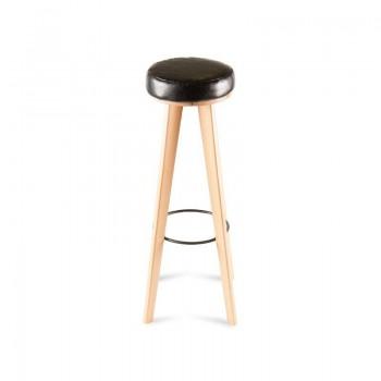 Табурет Latte – дизайнерский табурет – настоящий минимализм в дереве