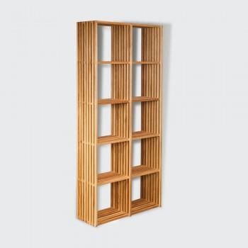 Стеллаж Big Ten – дизайнерский деревянный