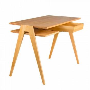 Стол письменный – дизайнерский – Biplan – ручная работа – дубовый
