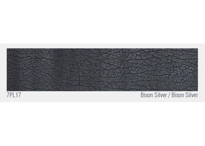 Швейцарский кожаный пол Bison Silver  3