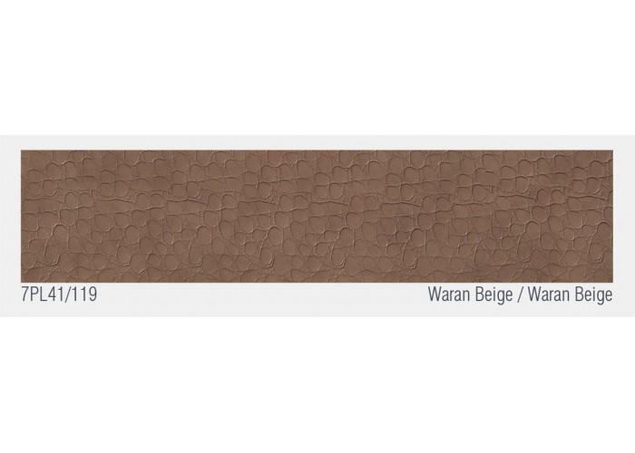 Швейцарский кожаный пол Waran Beige  3
