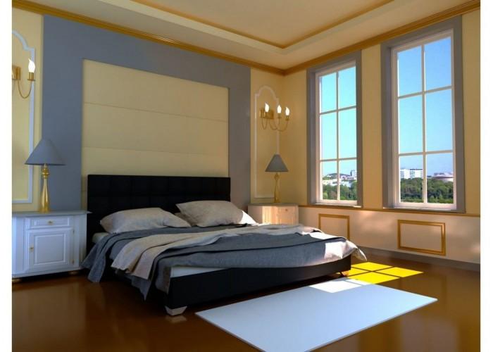 Мягкая кровать Novelty Гера  4
