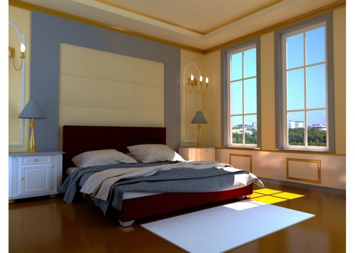 Мягкая кровать Novelty Гера  8