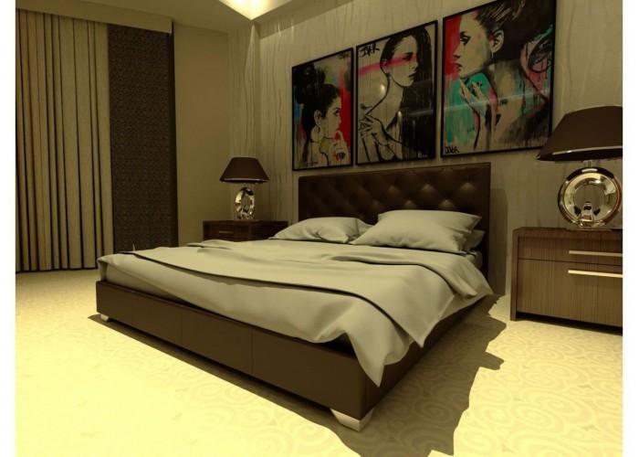 Мягкая кровать Novelty Морфей  5