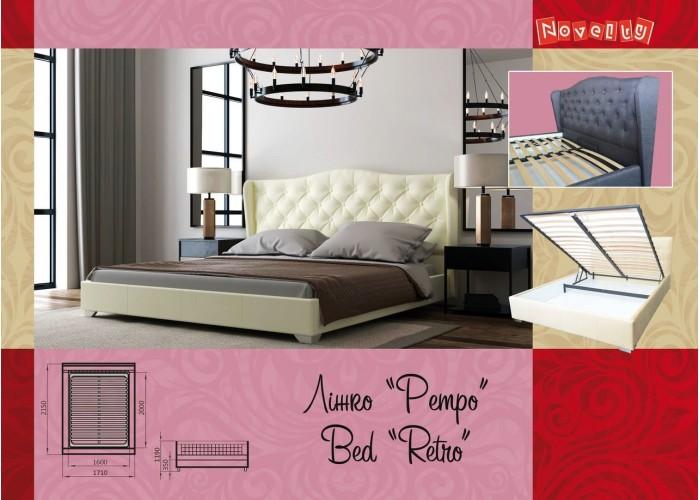 Мягкая кровать Novelty Ретро  10